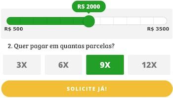 Simulador empréstimo online Simplic